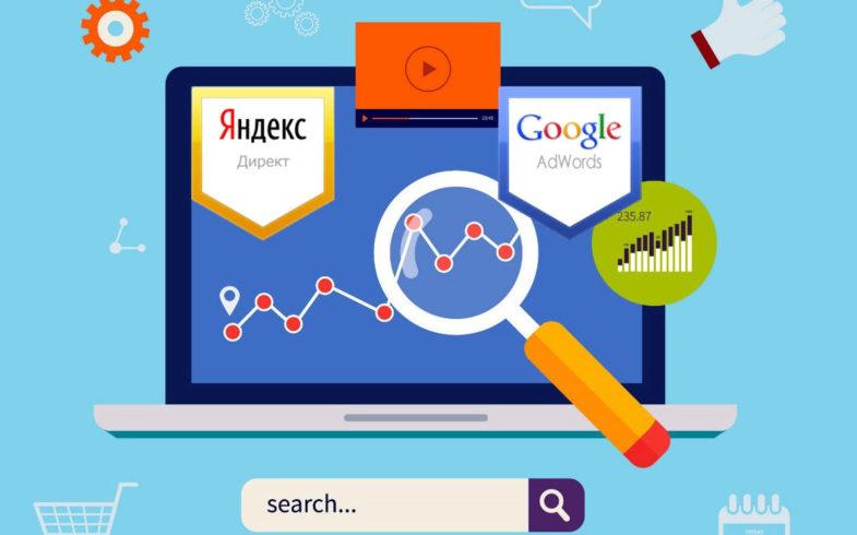 Контекстная реклама Yandex и Google